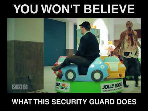 Security Guard Has Best Job in the World?!