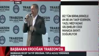 Başbakan Erdoğan. 15 Haziran 2014 / Trabzon Toplu Açılış Töreni Konuşması. [HD]