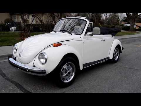 1975 Volkswagen Super Beetle Convertible - Ross's Valley Auto Sales - Boise, Idaho
