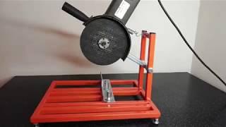 Стойка для болгарки. Making angle grinder stand