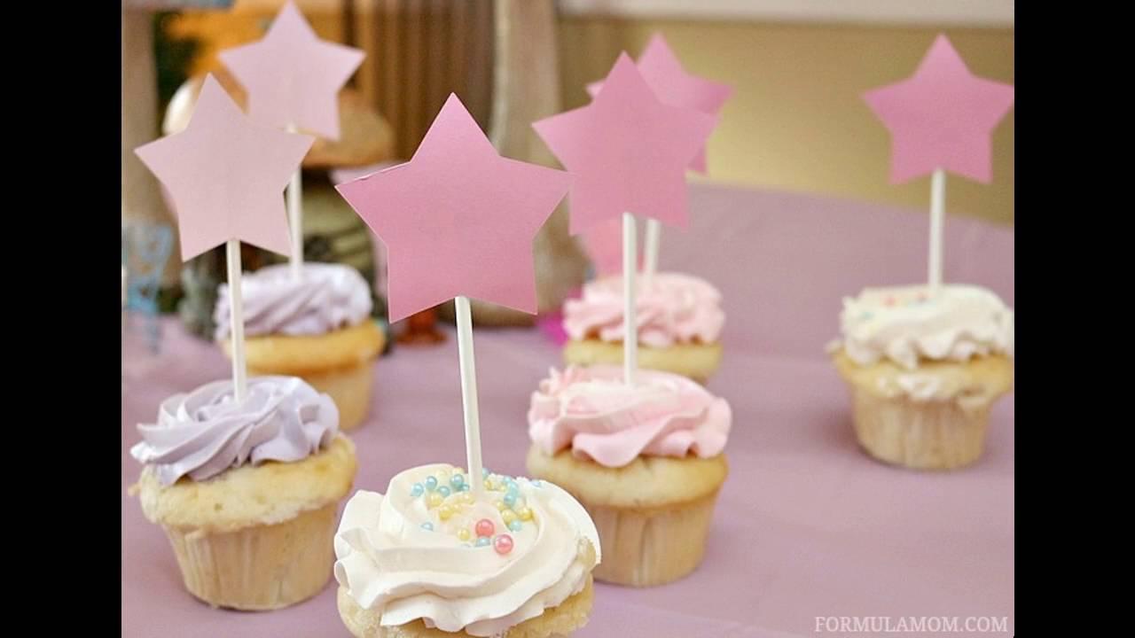 Easy Cupcake birthday party decorating ideas YouTube