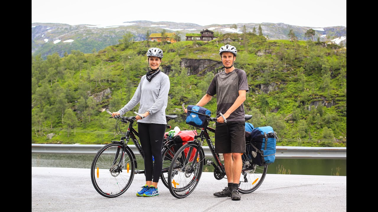Day #1 of the Fjord Cycling Route Bike Tour (with Katelyn ...