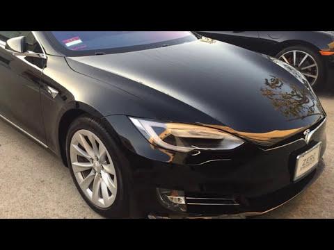 Korea-tinter.com and ATS installing Nano-Ceramic film on 2018 Tesla Model S