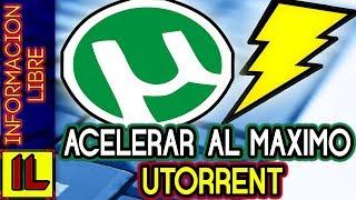 ►Como【ACELERAR uTorrent al MAXIMO✔】| Sin programas ✔|【2016】| Tutorial Completo