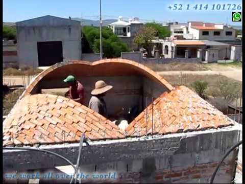 Extraordinary Brick Dome Roof Build The Art Of