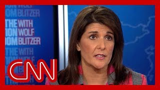 Nikki Haley is pressed about Trump's truthfulness