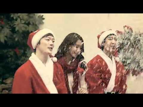 YoonA hát mừng giáng sinh.flv