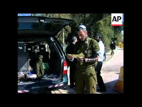 Israelis React To Ground Offensive, Reservists, Regev