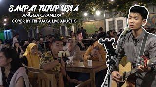Download lagu SAMPAI TUTUP USIA - ANGGA CANDRA LIVE AKUSTIK COVER BY TRI SUAKA - PENDOPO LAWAS