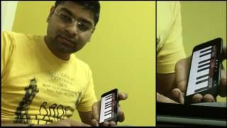 Tujhe Dekha To   DDLJ   iPhone   GarageBand   Instrumental   Cover