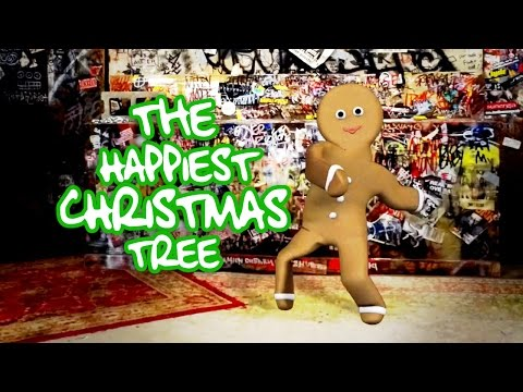 The Happiest Christmas Tree ❄ Crazy Dancing Gingerbread Man  ❄ CBGB's