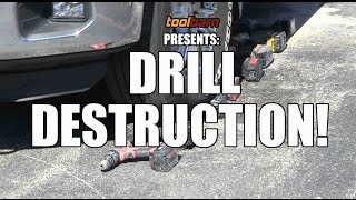 Ultimate 18V Drill Tool Fight - Death and Destruction