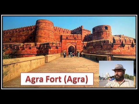 Agra Fort, AGRA (a visit)