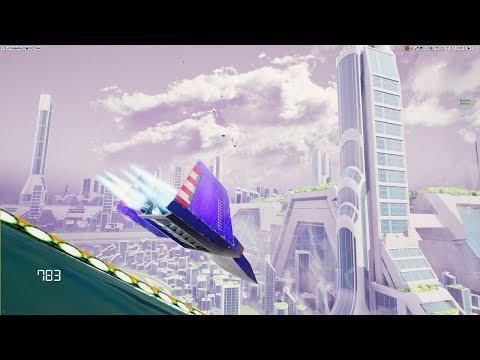 Unreal Engine 4 [4.18.2]  FZERO  X  Mute City