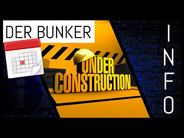 ESV Bunker ist immer noch eine Baustelle