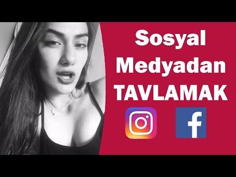 SOSYAL MEDYADAN YÜRÜME ŞEKİLLERİ (instagram - Facebook )