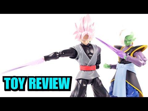DRAGONBALL SUPER DRAGON STARS GOKU BLACK & ZAMASU FIGURE REVIEW