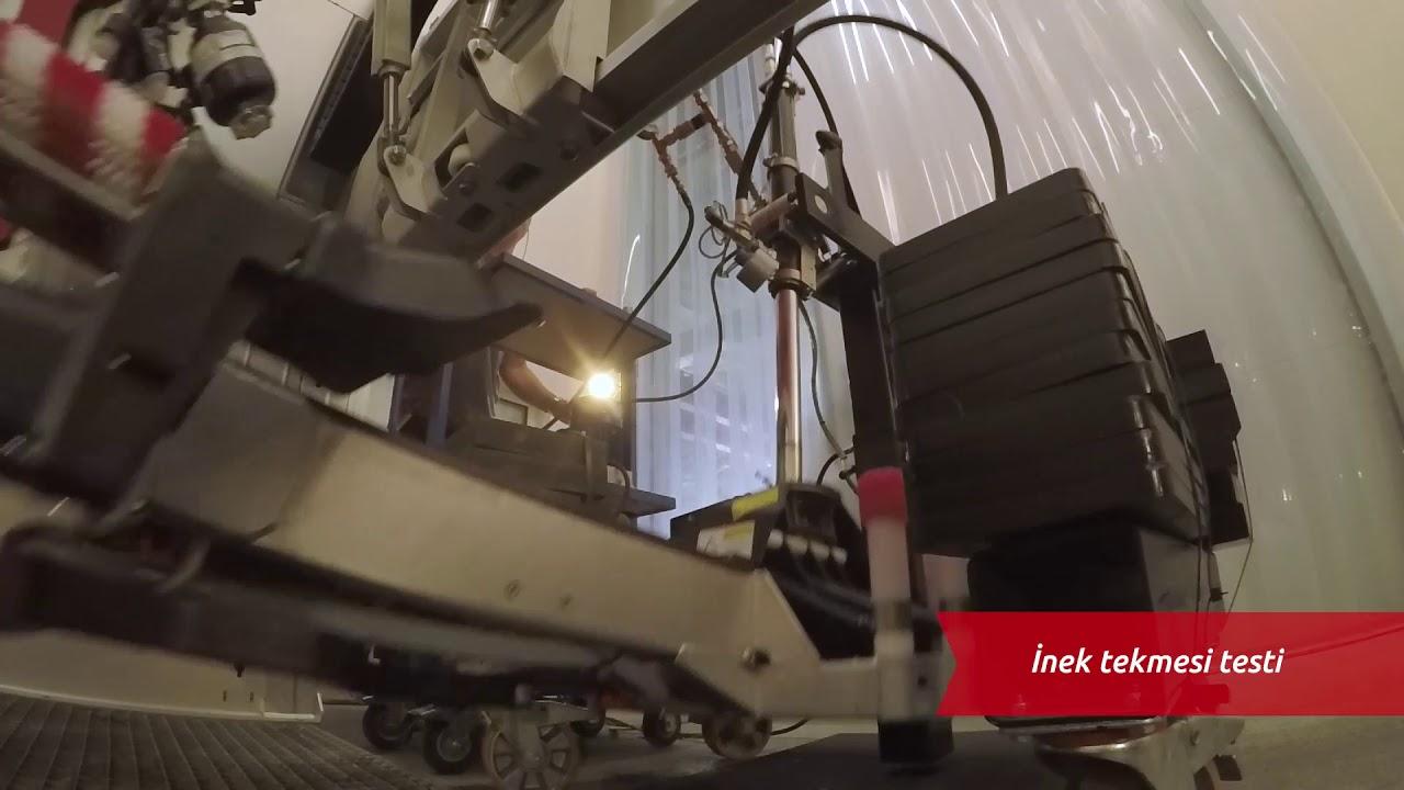 Lely Astronaut A5'i test etme - Test (Türk)