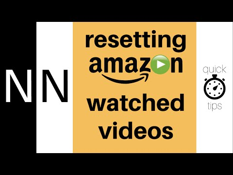 How to reset watched Amazon videos | Quick Tips