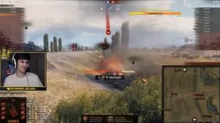 Нир Ю против Корбен Даллас /Попали в один бой/ Битва на  T95/FV4201 Chieftain