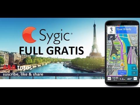 Sygic GPS Navigation for Android | GPS SIN INTERNET | full gratis |  2017 | GRATIS