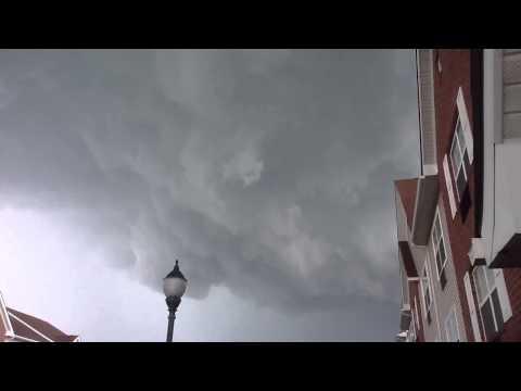 Tornado forming in Sterling Heights
