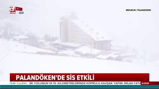 Palandöken'de Kar Kalınlığı 48 Santimetre! / A Haber
