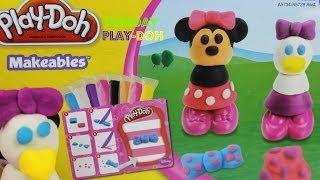 PLAY-DOH-Tuesday Play-Doh-Minne Mouse & Daisy Duck|B2cutecupcakes