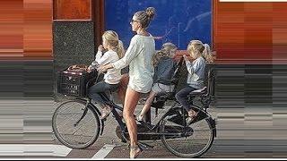 велосипеды в Голландии - bicycles in the Netherlands - fietsen in Holland