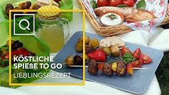 Köstliche Spieße to go   Lieblingsrezept der Woche   QVC