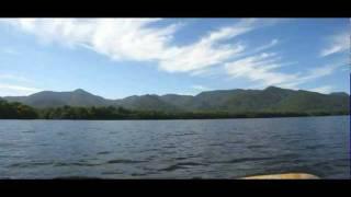 2010年9月に北海道へ旅行した際に車載動画と合わせて撮影したカヌーの船...