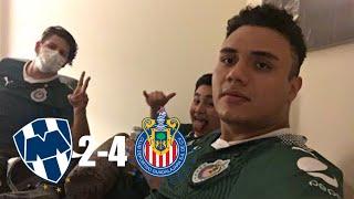 REACCIONES del 4-2 Monterrey vs CHIVAS reacción del equipo rojiblanco desde monterrey