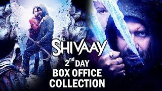 Ajay Devgn's SHIVAAY 2nd Day Box Office Collection - ROCK STEADY