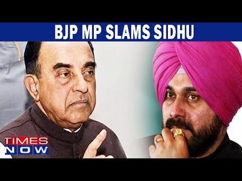 BJP Leader Subramanian Swamy attacks Navjot Singh Sidhu