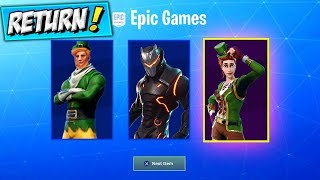 RARE SKINS COMING BACK! Fortnite MAX OMEGA CHALLENGES, Sgt Green Clover Skin RETURNING / RETURN