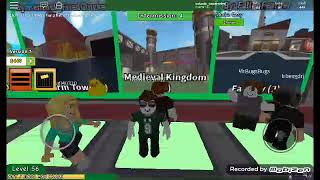 "My first roblox video in MAP OF ""ZOMBIE"""