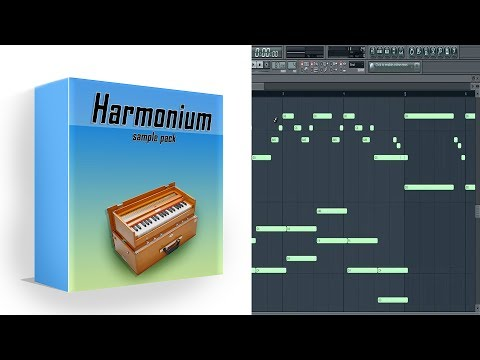Harmonium Sample Pack in Fl studio + {Midi Scores}