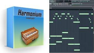 Harmonium Sample Pack in Fl studio + {Midi Scores}