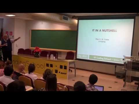 Introdution to Information Theory (Max Costa) - Part 1 (SPCodingSchool)