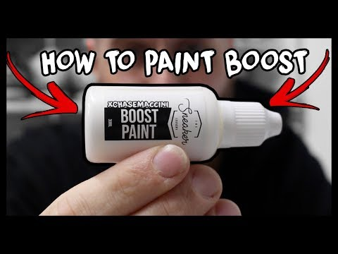 HOW TO PAINT ADIDAS BOOST! (YEEZY, ULTRABOOST & NMD's)