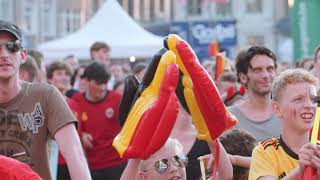Public screening x World cup 2018 x 3th game Belgian Red Devils