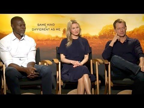 Djimon Hounsou, Renee Zellweger And Greg Kinnear Talk 'Same Kind Of Different As Me'