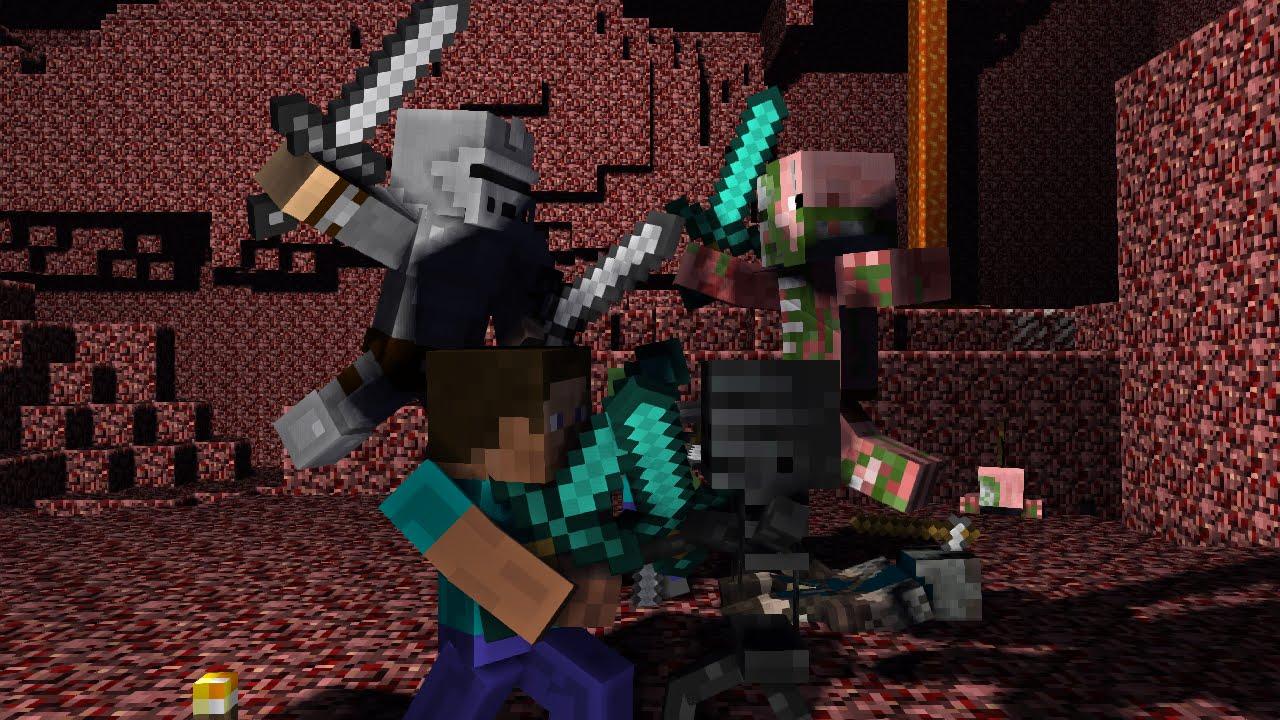 Steve Vs Mobs 3 Minecraft Animation Youtube