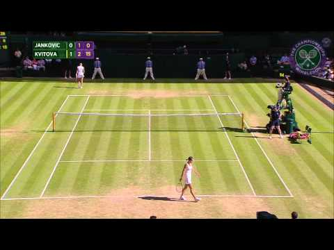 2015 Day 6 Highlights, Jelena Jankovic vs Petra Kvitova