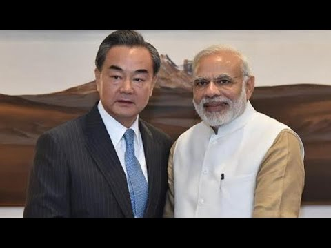 Chinese FM Wang Yi Meets PM Modi