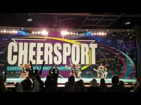 Cheersport Nationals, Atlanta Elite Allstars Royal, AE, Day 2, February 19, 2017