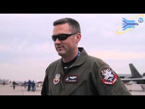 [FIDAE TV] Day 4: Interview Major John Cummings - F22 Raptor Pilot