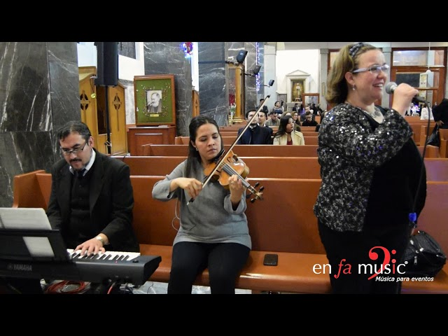 Ave María Schubert -  Trío Enfamusic
