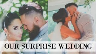 Isaac + Larissa Surprise Wedding || Wellington, New Zealand