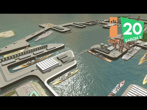 Cities Skylines - Episode 20 | Base Militaire - Marine Natio